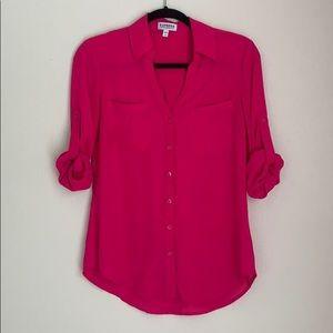 EXPRESS | pink portofino shirt
